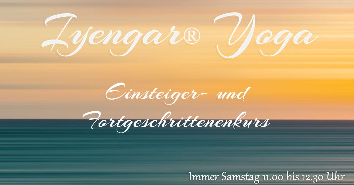 Iyengar-Yoga Kurs Samstag